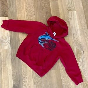 💙 2 for $18 💙 Gymboree red French terry hoodie
